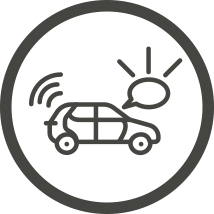 Rideshare app illustration